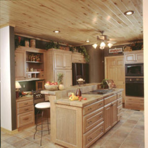 ASPEN WALL WOOD kitchen island