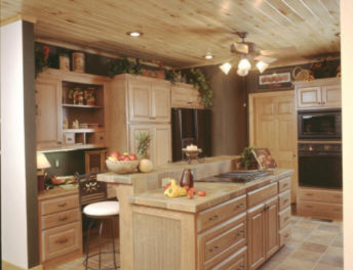 Aspen Kitchen and Kitchen Island